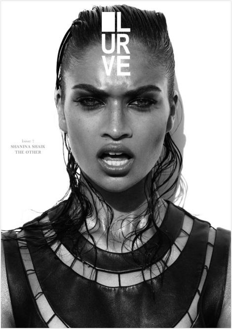 Shanina Shaik Lurve Magazine Cover