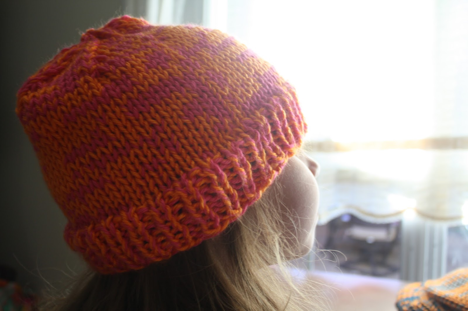 snapdragon crafts: double dutch, an easy double-stranded free hat ...