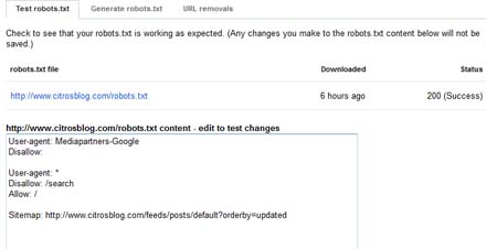 robots report