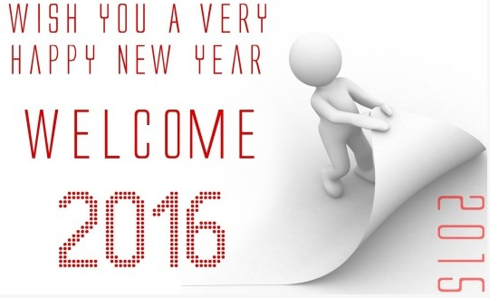 Happy New Year 2016 Messages