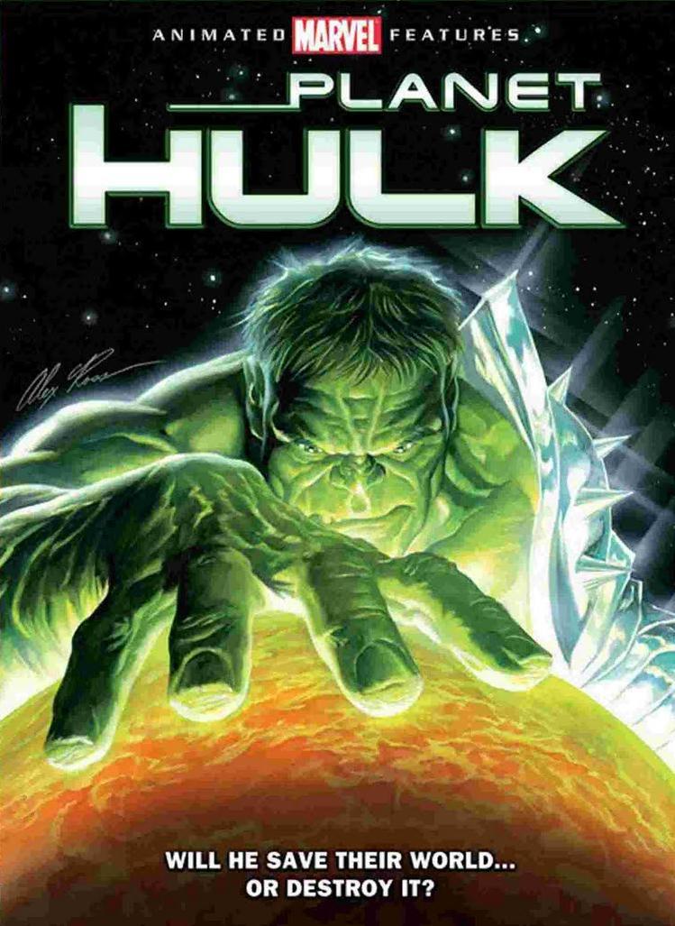 Filme Planeta Hulk   Dublado