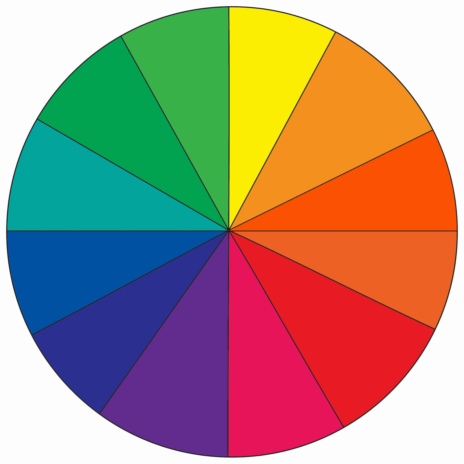 Year 2 work colour theory How does the colour wheel work