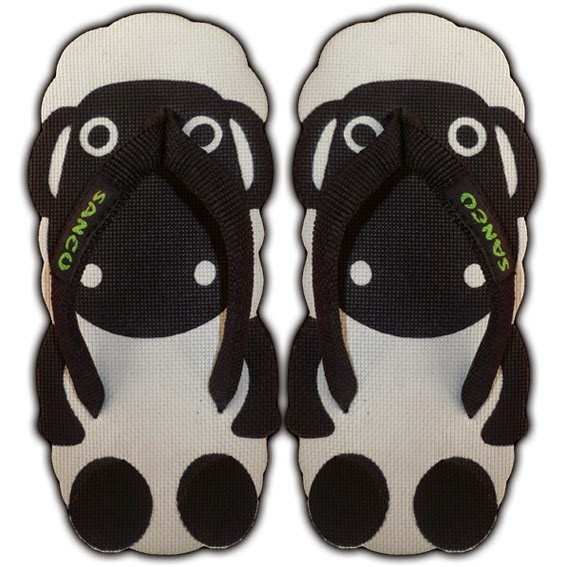 Motif Sandal Sancu Shaun The Sheep