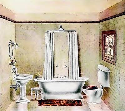 Strangers Pilgrims On Earth Bathroom Makeover