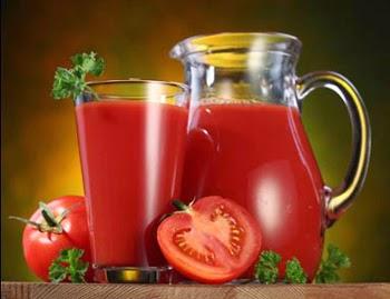 Nước ép cà chua với mật ong