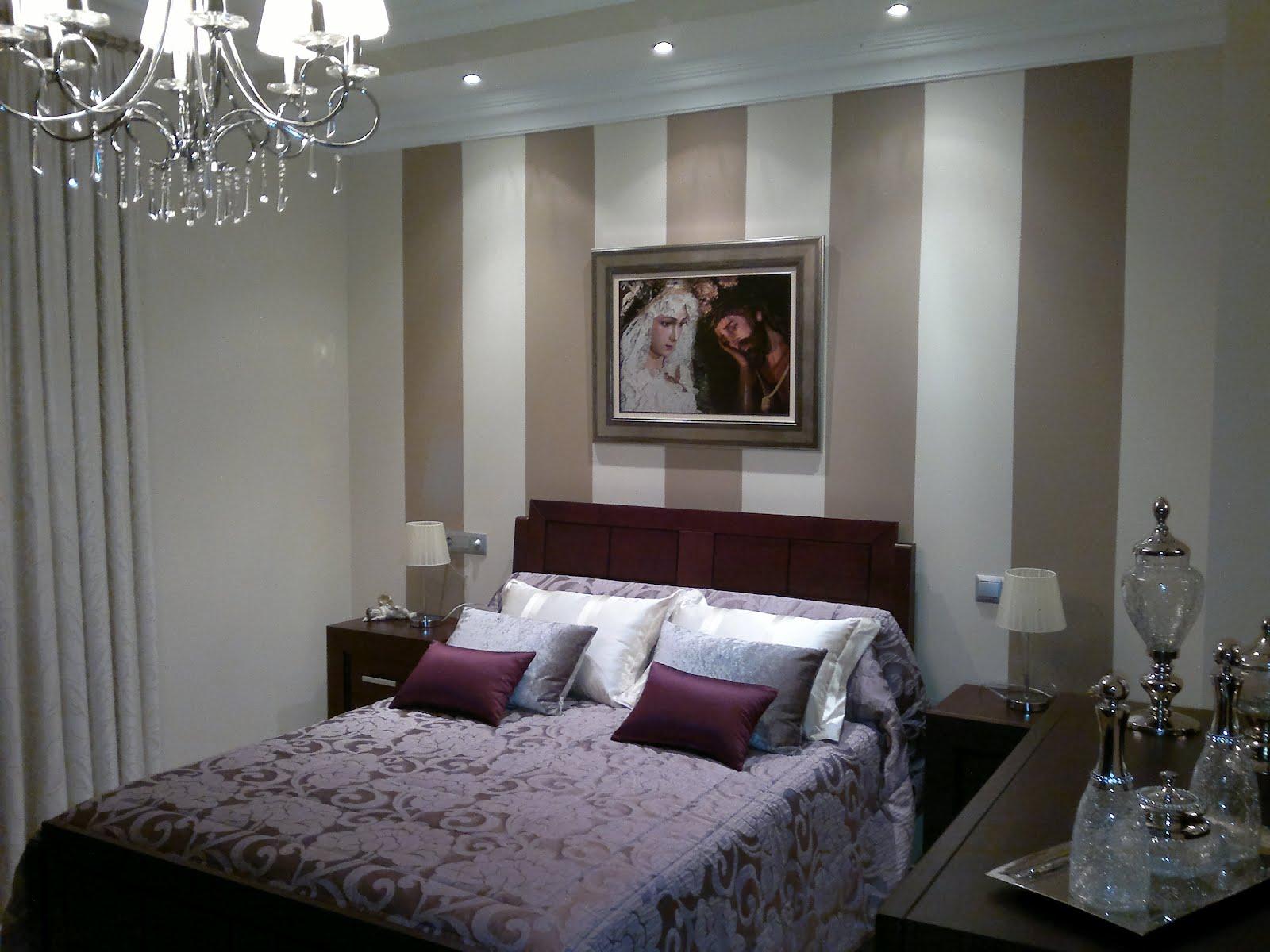 El diario mc rabanan habitaciones decoradas con rayas y - Habitaciones pintadas con rayas ...