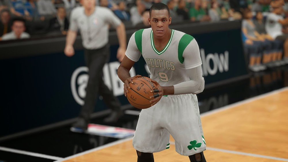 Boston Celtics Pride Sleeve Uniform | NBA 2K15