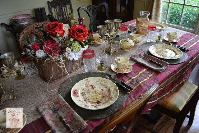 Nancy's Daily Dish- Transferware-Treasure Hunt Thursday- From My Front Porch To Yours