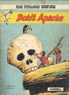 eBook Komik Lucky Luke - Bukit Apache