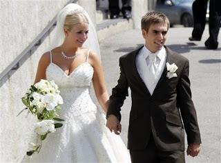 Philipp Lahm Wife Claudia 2013