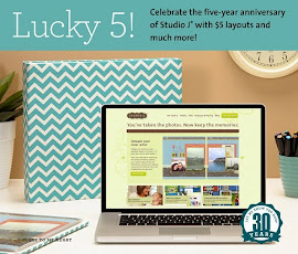 Lucky 5! Studio J layouts for only $5!