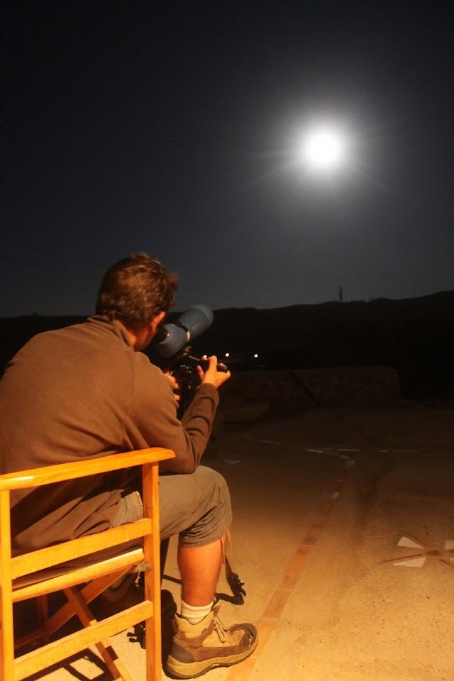 Νύχτες με πανσέληνο στα Αντικύθηρα: παρακολούθηση της μετανάστευσης