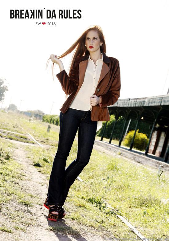 Breakin Da Rules invierno 2013 moda sacos, blazers