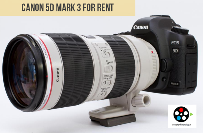 CANON 5D MARK 3 RENT