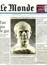 2007 découverte du buste de César