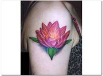 Lotus Flower Arm Tattoo Designs