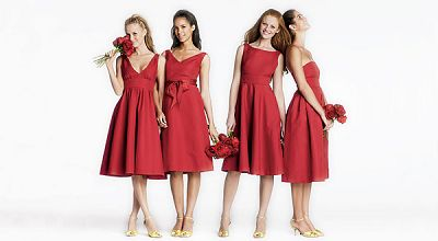 Red Bridal Party Dress