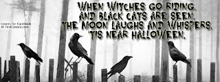 when witches go riding Halloween quote and sayings