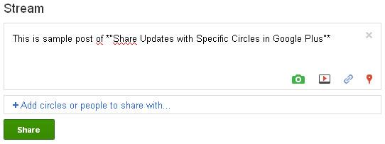 Google+ Share Post