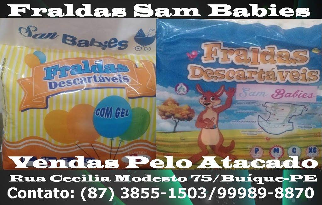 FRALDAS SAM BABIES EM BUÍQUE
