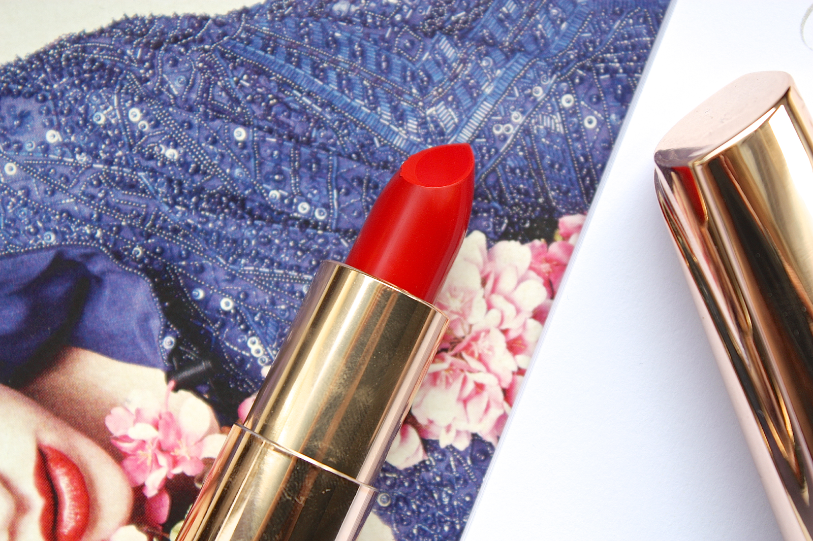 Yves Rocher Lipstick Grand Rouge Review