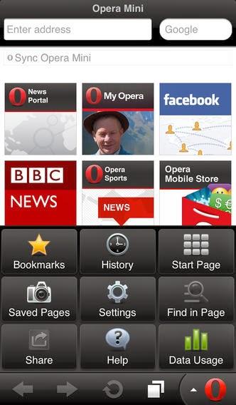 تحميل متصفج أوبرا ميني لأنظمة أندرويد وأي او إس وبلاك بيري مجاناً Opera Mini web browser APK-IPA-iOS-BB
