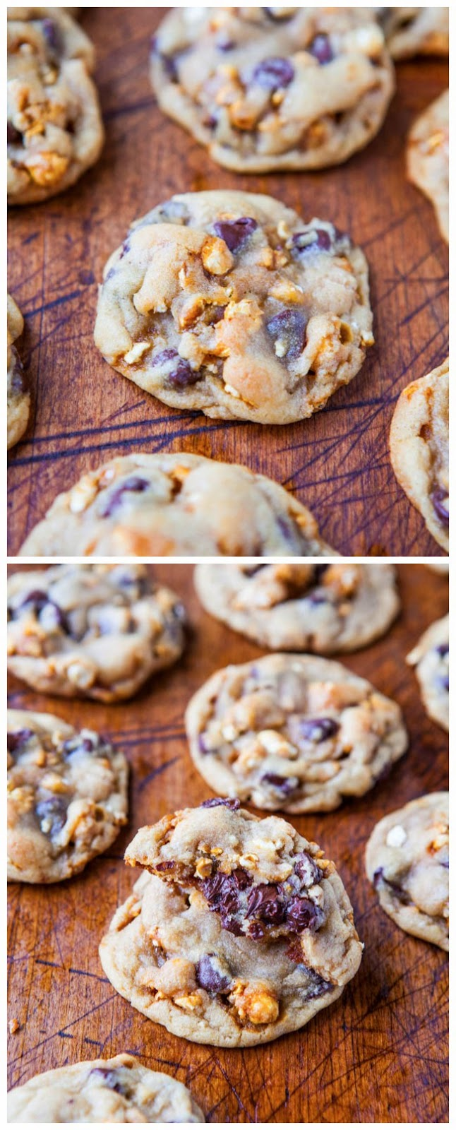 Caramel Corn Chocolate Chip Cookies ~ Easy Kitchen 4 All