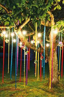 Vibrant Wedding and reception