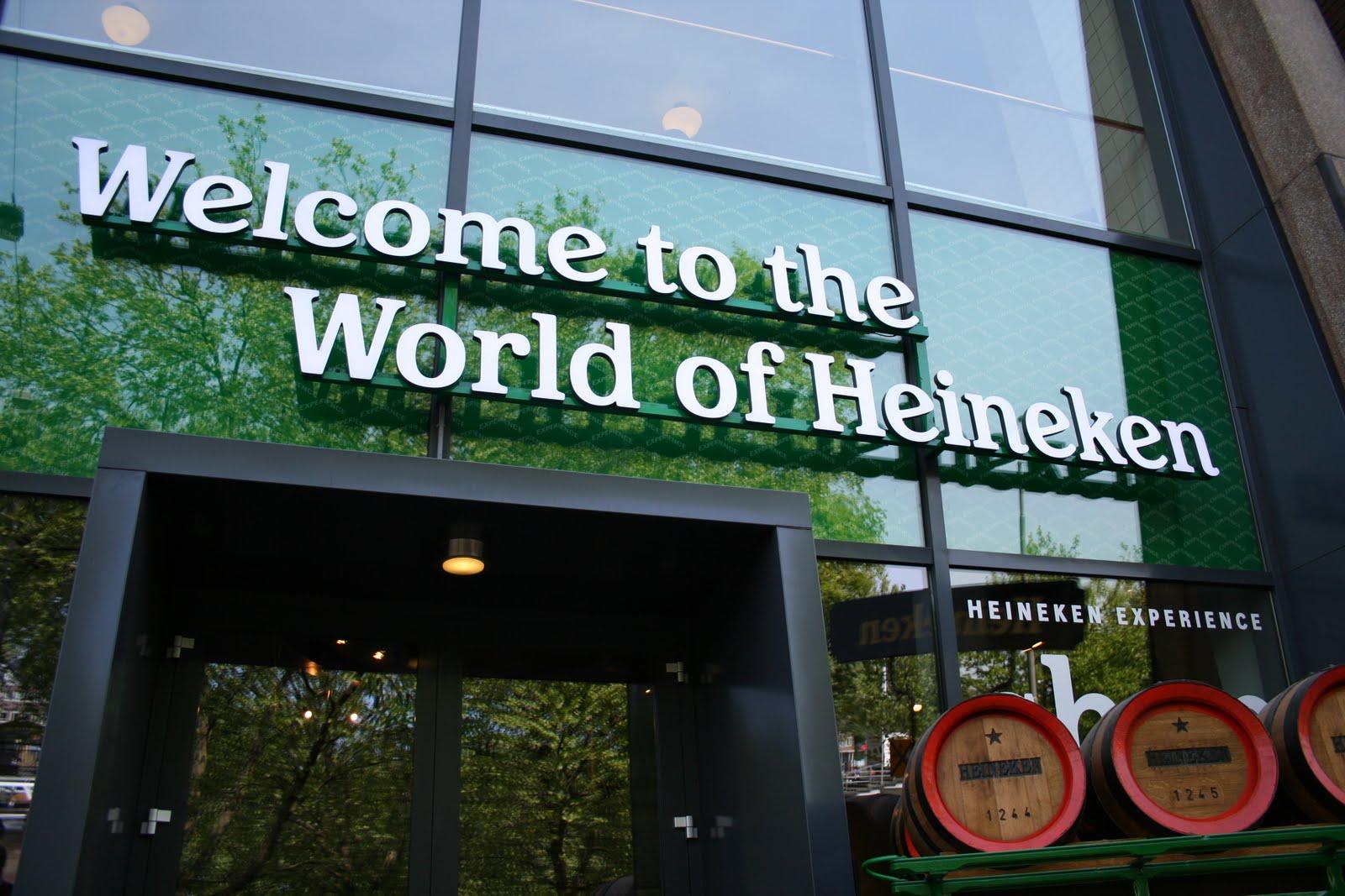 Tour Heineken Amsterdam