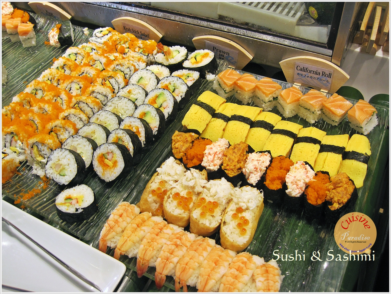 Cuisine paradise singapore food blog recipes reviews for Buffet cuisine