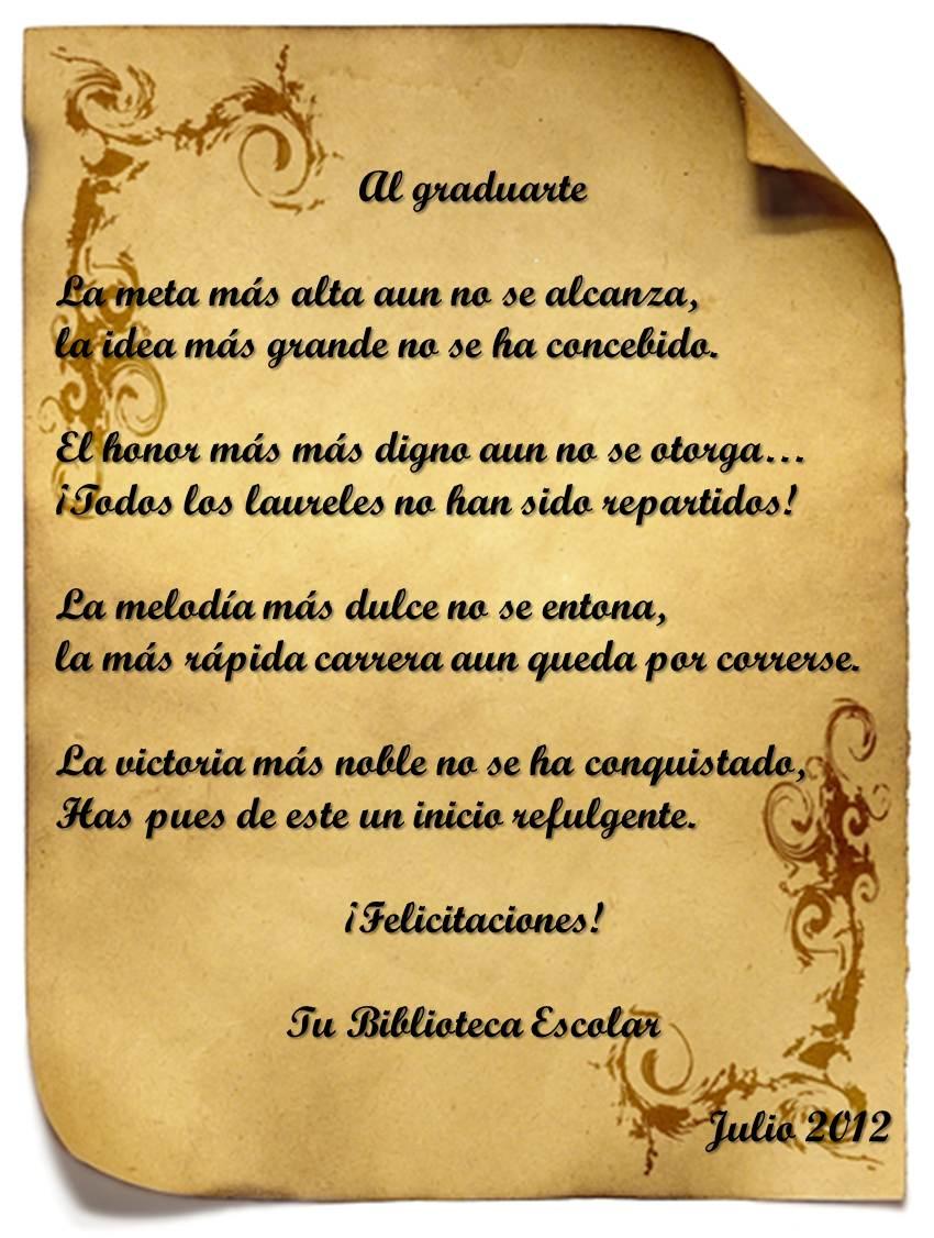 Mensajes Para Tarjetas De Graduacion