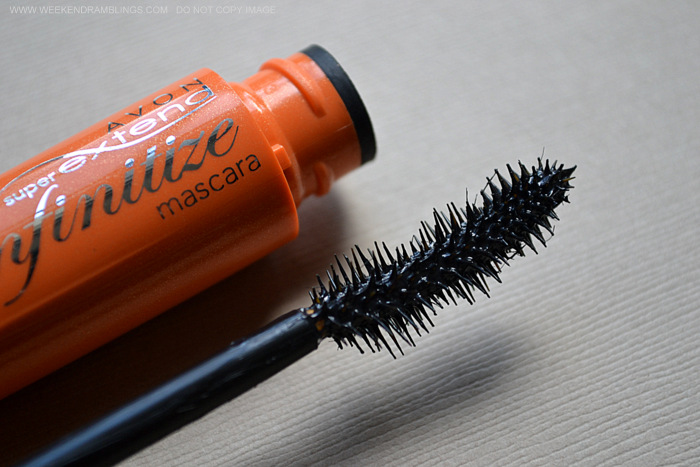 Avon SuperExtend Infinitize Mascara - Black - Indian Makeup Beauty Blog Photos Review