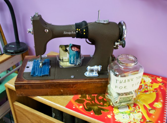 astoria seamstress tailor sewing machine