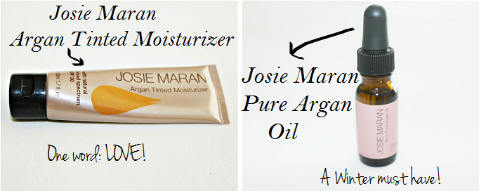 Joise Maran Tinted Moisturizer Review, Josie Maran Pure Argan Oil Review