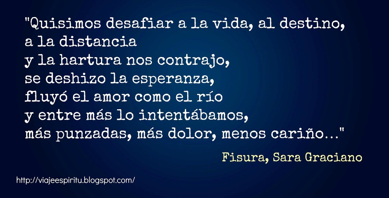 Fisura, Sara Graciano