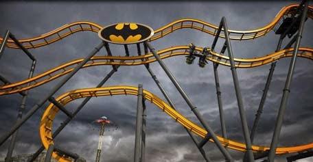 Batman Ride in Dubai Six Flags Theme Park?