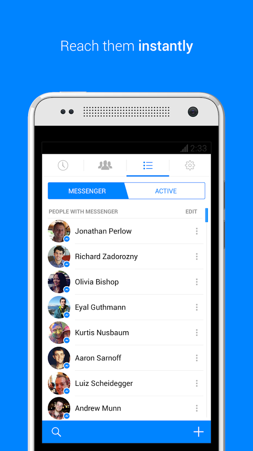 Facebook Messenger Android Apk resimi