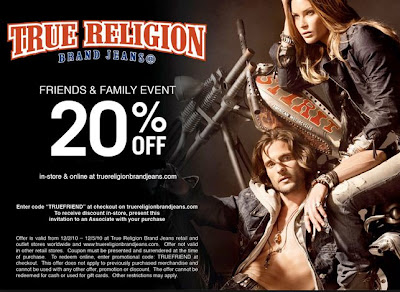 true religion printable coupons