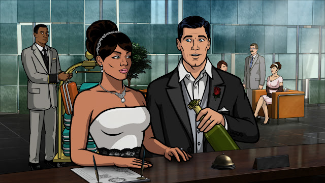 This Archer episode was actually a discarded Undercovers script, found by a writer's assistant in a dumpster next to a spot where Vicki's human brother from Small Wonder once got blown by a hooker.