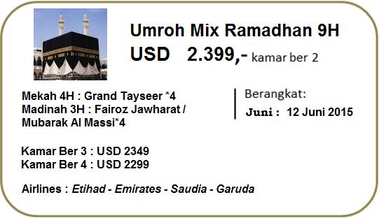Umroh Mix Ramadhan 2015