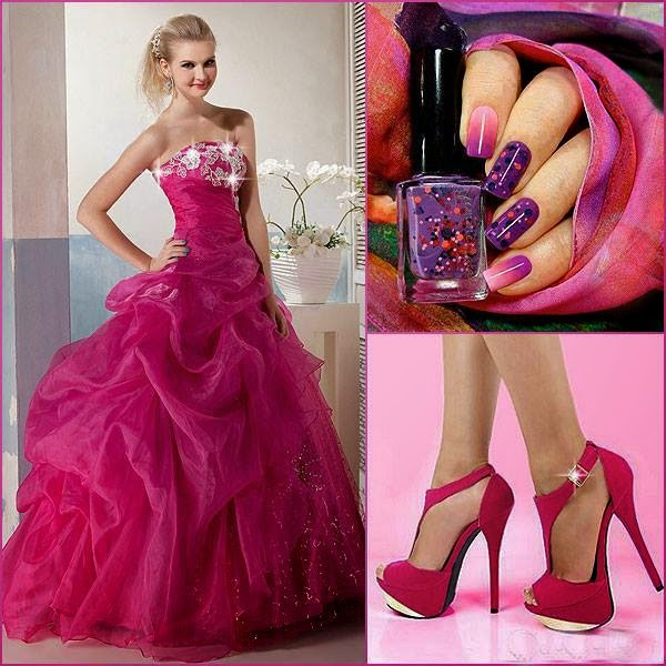 Rochie roz de printesa lunga fara maneci