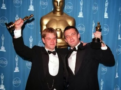 Matt Damon and Ben Affleck won Oscars for their screenplay GOOD WILL HUNTING