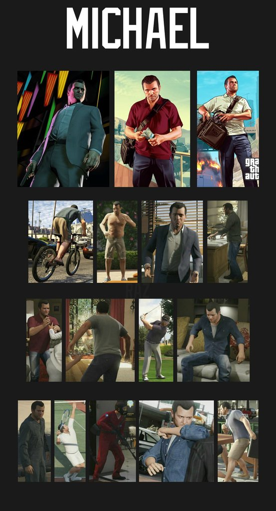 GTA V Character Customization Michael