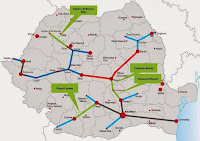 harta autostrazi proiect romania ponta