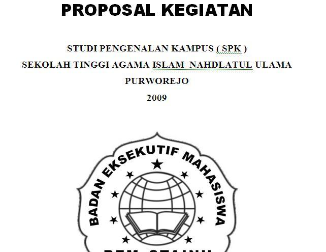 Contoh Proposal Kegiatan Ospek Contoh Surat Dan Kebutuhan Anda