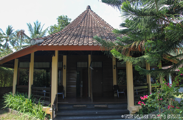 Mascot Beach Hotel (Senggigi, Lombok) - The bungalow