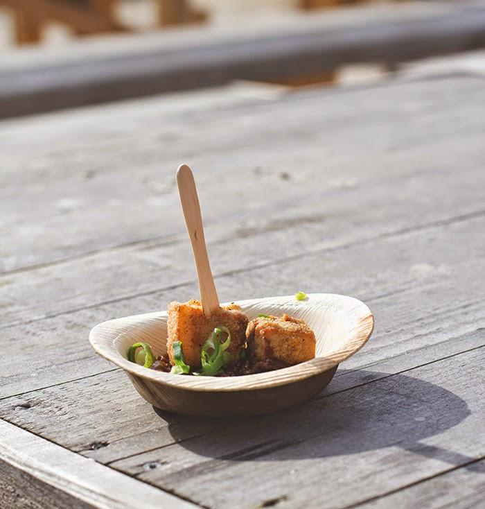 Crispy Pork Belly Thai Style von den Ol' Spice Boyz / Straßenküche aus Düsseldorf beim Street Food Festival Köln