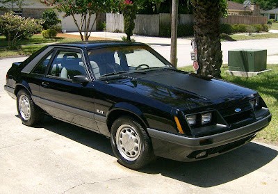 86 Mustang 5.0. with a shrug of my