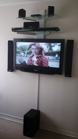 Instalado= Hometheatre 5parlantes+Subwoffer - Deco - PS3 - LCD 37""