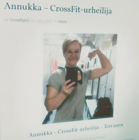 minä - Crossfit-urheilija